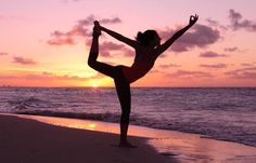 Yoga For Thighs And Hips - Natarajasana
