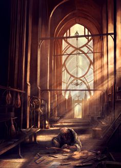 old lutherie by rado javor | Illustration | 2D | CGSociety