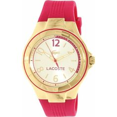 Explore the latest collection of Women's Watches and Girls Watches online in New Zealand from NZ Watch Store. We have a wide collection of the best branded ladies wrist watches including Fossil, Michael Kors, Marc Jacobs and Guess Womens Watches. 21st Gifts, Watches Online, Stainless Steel Case, Quartz Watch, Fashion Watches, Gold Watch, Lacoste, Pink, Wrist Watches