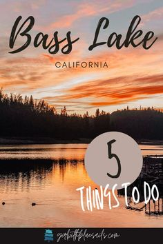 5 things to do in Bass Lake, California to help with your vacation planning. Get details on boat rental info, where to swim, and where to hike. 🌿 #fishing #views #yosemite #laketowns #wanderlust #roadtrip #travelblogger #campvibes Bass Lake California, Visit California, California Travel, Usa Travel Guide, Travel Usa, Travel Guides, Us Travel Destinations, Best Places To Travel, New York City Travel