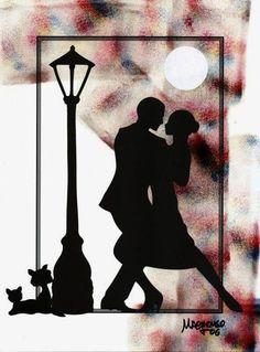 teach me to tango Tango Art, Tango Dancers, Social Dance, Couple Painting, The Embrace, Shall We Dance, Salsa Dancing, Ballroom Dancing, Paper Cutting