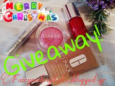 Fairy make-up tales . . . . : Merry Christmas and Happy New Year Giveaway with Clinique!