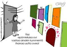 Kuva-aatos: Onnen ovet | Hidasta Elämää