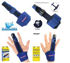 Finger Extension Splint for Trigger Mallet Knuckle Immobilization Fractures Care for sale online Trigger Finger Exercises, Hand Therapy, Healing Herbs, Extensions, Cleaning, Home Cleaning, Medicinal Plants, Hair Extensions, Herbal Medicine