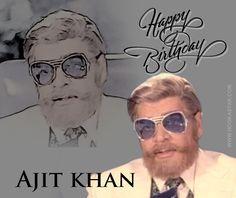 Birthday wishes to #Ajittkhan !!! #MonaDarling #Bollywood #legendary #actor #worldishere #nowhereelse #hookastar #madeinindia #followyourfavoritestars #bollywooduncut #liveconnected