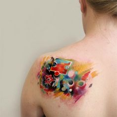 #tattoofriday - BARTT TATTOO, Londres (arte contemporânea abstrata);