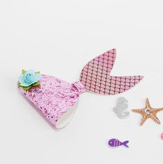 Pink Glitter Mermaid Tail Hair Bow Mermaid Hair Bow Mermaid Glitter Top, Glitter Hair, Glitter Vinyl, Glitter Acrylics, Acrylic Nails, Bow Template, Glitter Pumpkins, Felt Bows, Cheer Bows