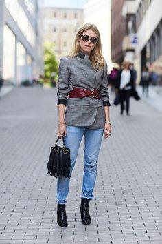 Неделя моды в Стокгольме, весна-лето 2017: street style (фото 16)