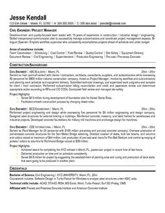 Click Here to Download this Civil Engineering Resume Template ...