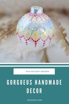 Elegant, hand painted glass ornaments. Shipping from Canada, click through to order!  #christmas2020 #christmasornaments #glassornaments #mandalaornaments #holidaydecor #christmasdecor #christmasgifts #elegantchristmas Christmas Bulbs, Christmas Gifts, Christmas Decorations, Holiday Decor, Best Friend Gifts, Gifts For Friends, Cool Gifts, Unique Gifts, Best Teacher Gifts