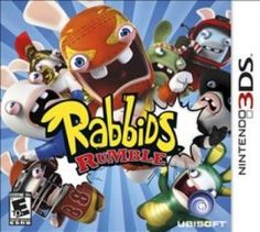 Rabbids Rumble for Nintendo 3DS #Review
