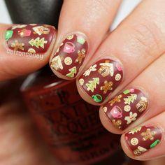Christmas Inspired Nail Art