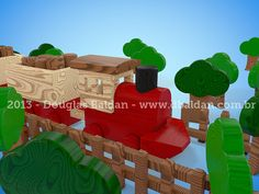 Wood train toy | Douglas Baldan - Online Portfolio | Criar sites, blogs, Templates de Wordpress, Freelancer, layout