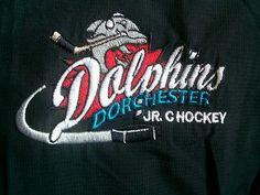 Dorchester Dolphins Jr C Rare player worn Jacket SOJHL