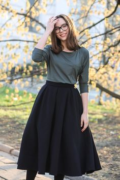 TYRMANDÓWKA black by RISK Made in Warsaw = tulle skirt