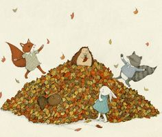Fall Leaves by Stephanie Graegin