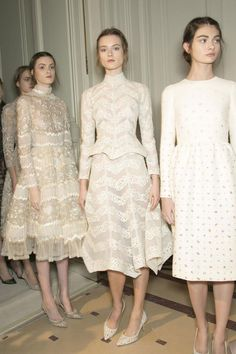 Valentino SS 13. Wow! Such tznius dresses!