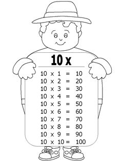 Free Grade One math printable activity worksheet. Free Kindergarten Worksheets, Preschool Printables, Math Activities, Maths Times Tables, Math Tables, Math Skills, Math Lessons, Multiplication Chart, Math Board Games