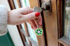 Porte clé fruité kiwi