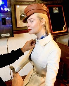 Picture of Elle Fanning Tomorrow Is The Day, Gucci Gown, Fanning Sisters, Dakota And Elle Fanning, Catherine The Great, Press Tour, Brad Pitt, Marie Claire, New Pictures