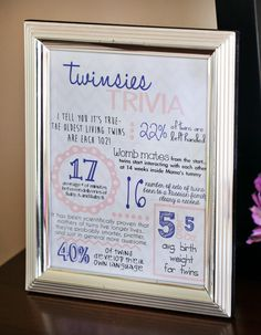 Lavender Better Together Twin Girls Baby Shower