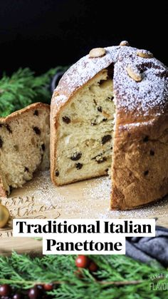 Christmas Sweets, Christmas Baking, Christmas Recipes, Holiday Recipes, Italian Foods, Italian Desserts, Yeast Bread Recipes, Baking Recipes, Italian Panettone