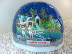 Vintage Snowdome Snow Globe Cypress Gardens Florida