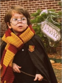 Harry Potter Costume- so cute!