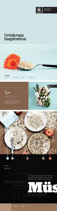 Cereals | Design: UI/UX. Apps. Websites | Urtekram Inspiration |