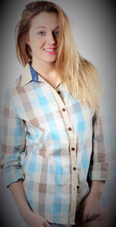 Camisa cuadros  Fanny