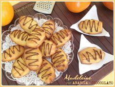 Madeleine arancia e cioccolato by I Dolci di zia Chicca #Poloplast