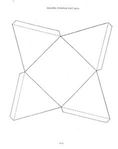 8 best paper pyramids images on pinterest bricolage school