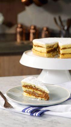 Você vai querer casar com esse lindo e delicioso bolo!