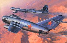 MiG-15 Fagot (Masao Satake)