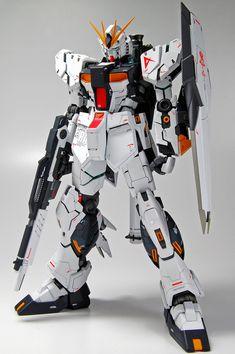 MG 1/100 Nu Gundam Ver.Ka: Latest Work by kenta. Full Photoreview No.51 Big Size Images | GUNJAP