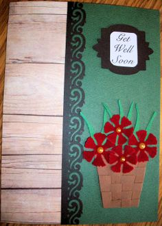 Get Well - Barn Siding by Julie's Creations