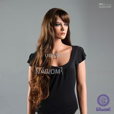 Extra Long Hairstyles Gallery | ... of the Aw Highlighted Chestnut Brown Ella Extra Long Wig Hair Trending