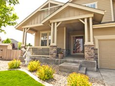 porches for mobile homes   Spacious Covered Front Porch   Rogers Realty - Fort Collins Home Real ...