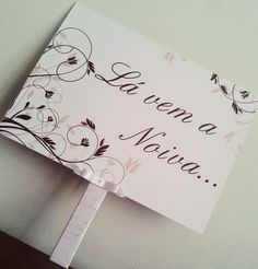 Gy Farias: Plaquinha: Lá vem a noiva...