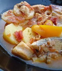 Caldeirada (soupe de poisson portugaise)