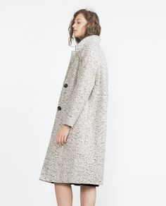 COAT WITH LAPELS-View all-Outerwear-WOMAN-SALE | ZARA United States