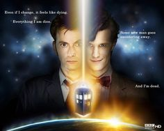 The Doctor on Regenerating. This is so heart breaking.
