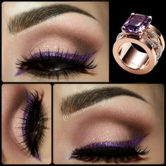 Purple eyeliner https://www.makeupbee.com/look.php?look_id=93617
