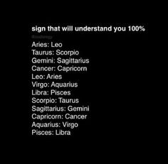 Well if this isn't accurate IDK what is. Image via We Heart It #zodiac