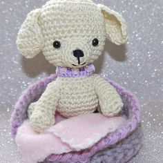 puppy amigurumi by UKCraftyMoo on Etsy, $28.00