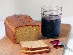 Paleo Bread: almond flour, coconut flour, flaxseed meal, sea salt, eggs, coconut oil, honey, apple cider vinegar.