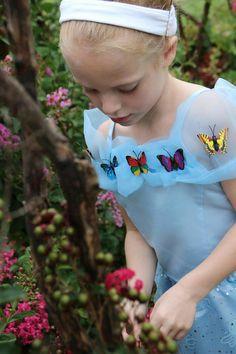 Disney Princess photo shoot, 5 years old. Cinderella