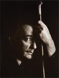 Salvador Dali by Arthur Rothstein -1951. S)