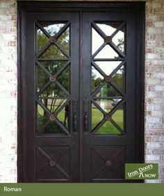 Photo Gallery | Exterior Iron Door Pictures | Iron Doors Now