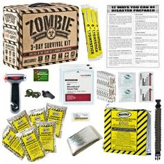 3 day zombie survival kit